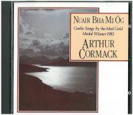 Arthur Cormack - Nuair Bha Mi Òg